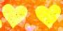 2yellow hearts
