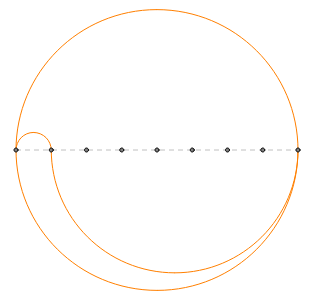 Circle with 8 equal regions2