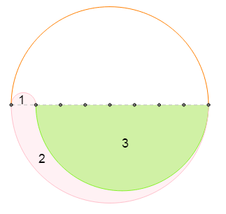 Circle with 8 equal regions5