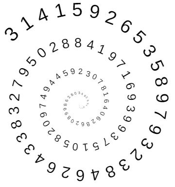 SpiralDigitsofPi